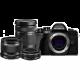 Olympus OM-D E-M10 Mark III - Black with 14-42mm f/3.5-5.6 & 40-150mm f/4-5.6 & 25mm f/1.8 Lens